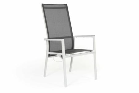 Positionsstol Avanti, vit/grå, Brafab